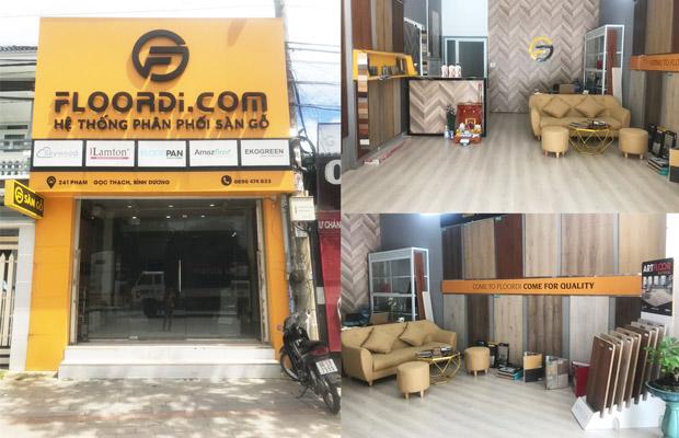 Cửa hàng sàn gỗ bình dương