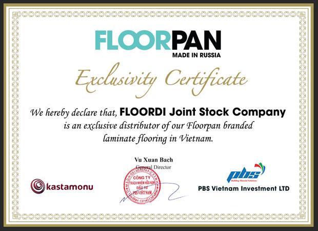 Đại diện phân phối floorpan