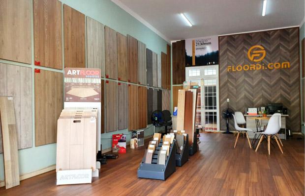 Khu vực trưng bày sản phẩm mẫu tại KonTum