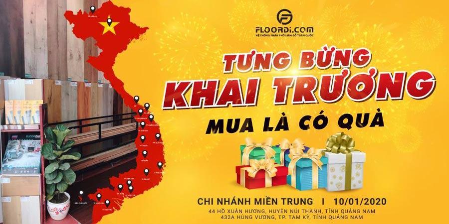Banner Mừng Khai Trương CN Quảng Nam