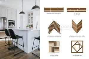 Các kiểu lắp sàn gỗ độc đáo được ưa chuộng nhất hiện nay