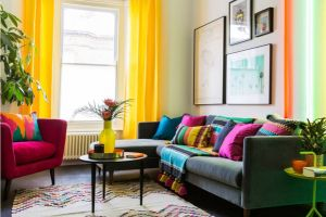 Color Block – Xu hướng thiết kế nội thất đa sắc màu