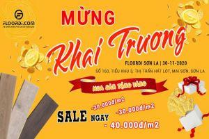 """""""Mua sàn nhận vàng – Rinh ngàn quà tặng"""" tại Floordi Chi nhánh Sơn La"""
