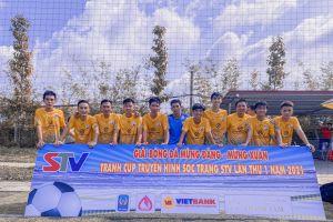 FLOORDi tài trợ đồng phục cho đội bóng tham dự giải đấu tranh cúp Truyền Hình Sóc Trăng STV Lần Thứ I