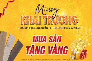 [HCM] Mua Sàn Tặng Vàng - Ngập Tràn Ưu Đãi Mừng Khai Trương Showroom 25