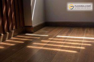Sàn nhà màu gỗ kết hợp màu gì cho phù hợp?