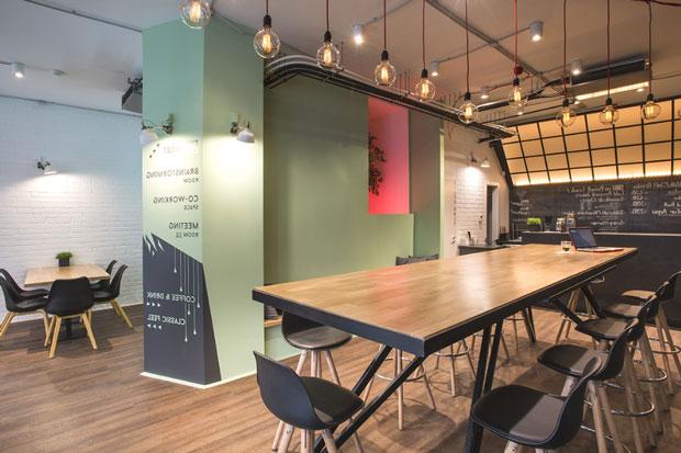 Văn phòng với Style Industrial trở thành trào lưu mới
