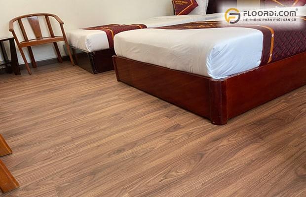 Sàn gỗ công nghiệp vân sần được đánh giá cao