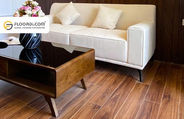Cách kết hợp sàn gỗ với không gian