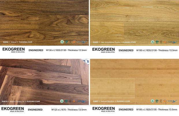 Các loại gỗ tự nhiên lát sàn phỗ biến