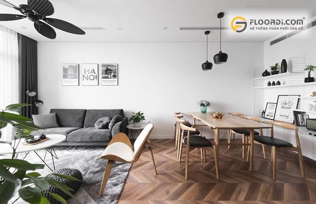 Các loại sàn gỗ công nghiệp càng được ưa chuộng