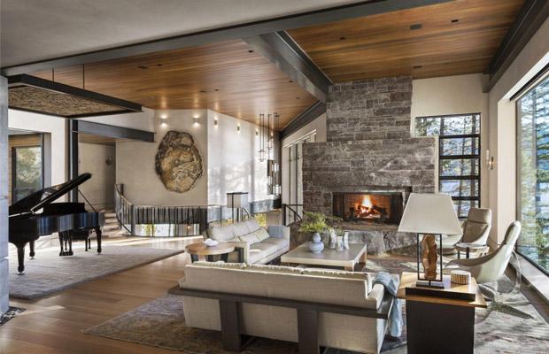 Cách phối hợp sàn gỗ cho phong cách rustic
