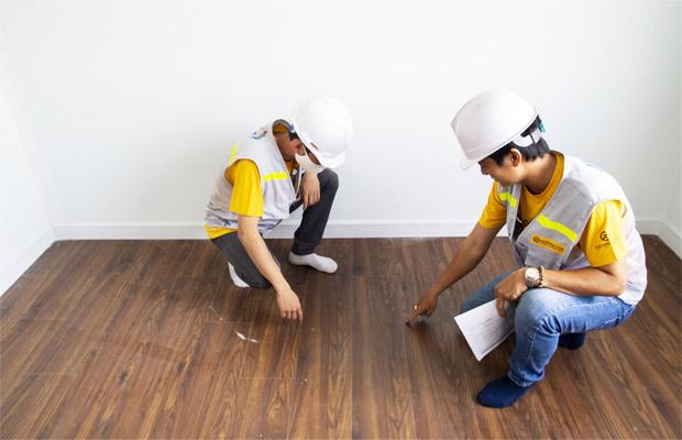 Đội ngũ thợ thi công được đào tạo bài bản và nghiệm thu công trình sau khi lắp đặt.