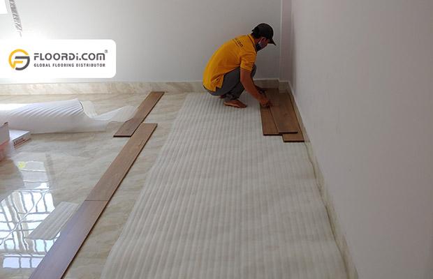 Đơn giá nhân công lát sàn gỗ