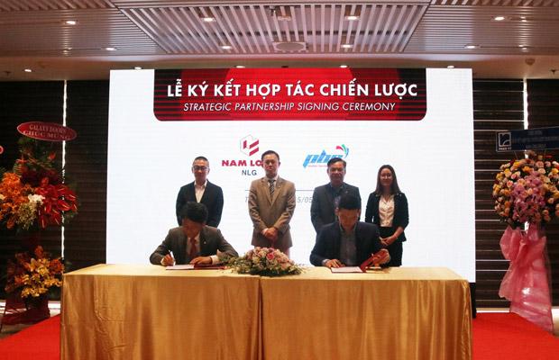 Floordi ký xác nhận hợp tác cùng Nam Long