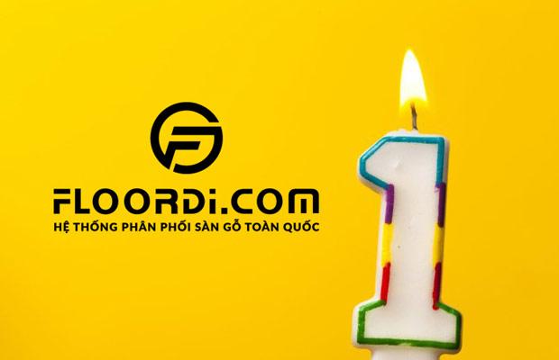 Floordi mừng sinh nhật 1 tuổi