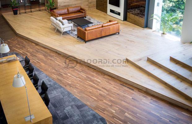 Giá 1m2 sàn gỗ tự nhiên bao nhiêu