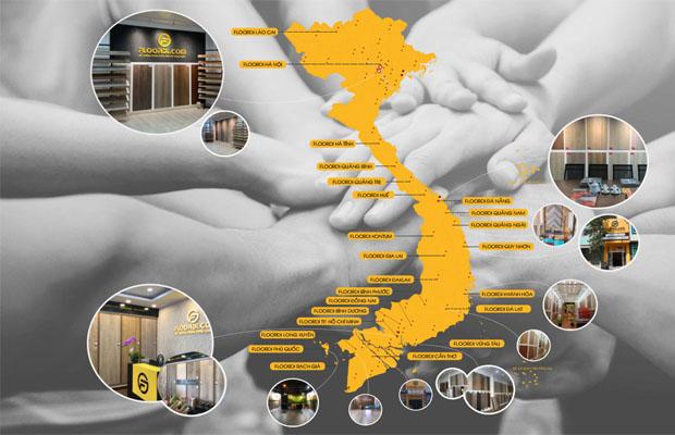 Floordi – Hệ thống phân phối sàn gỗ với hơn 200 đơn vị Đại lý trên toàn quốc.