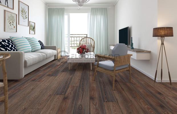 Không gian phòng làm từ gỗ công nghiệp HDF