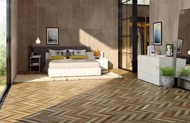 Kích thước tấm sàn phù hợp với diện tích phòng