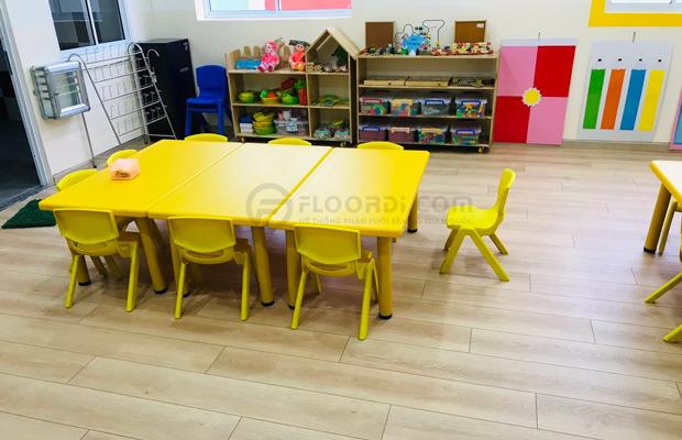 Lót sàn gỗ có tốt cho trẻ em