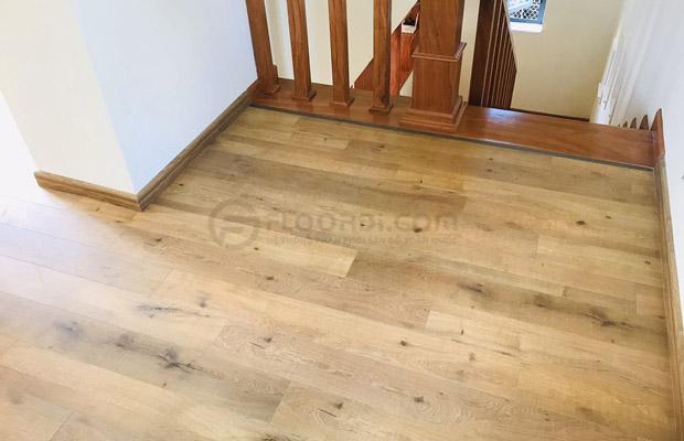 Lắp sàn tự nhiên cho chung cư