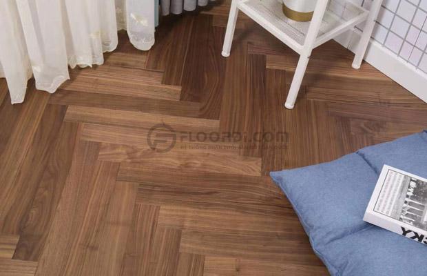 lót sàn gỗ mang đến không gian sống hiện đại
