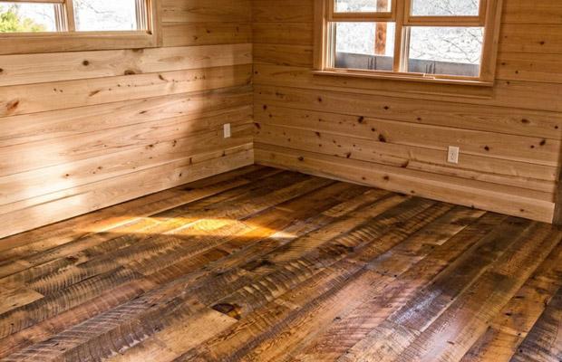 mẫu vách ốp gỗ cỗ điển