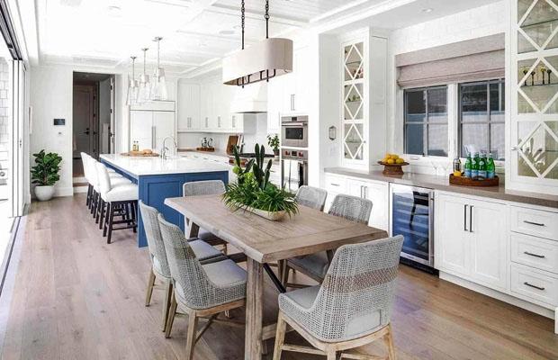 Phòng bếp theo Coastal Style