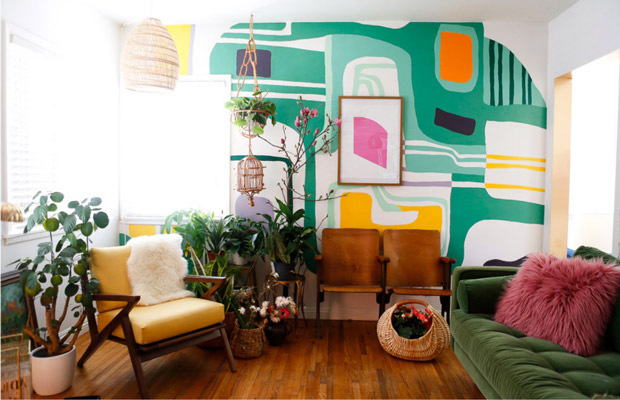 Phong cách color block phù hợp với không gian nào