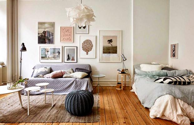 Phong cách phong ngủ theo Style Bắc Âu