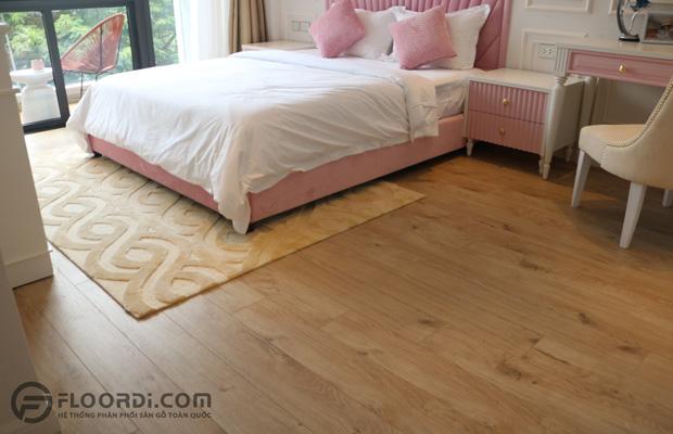 Phòng ngủ của bé với tone màu hồng