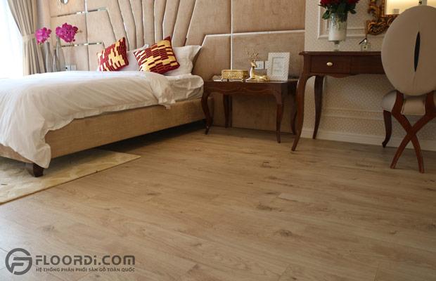 Phòng ngủ tối giản với tone trầm