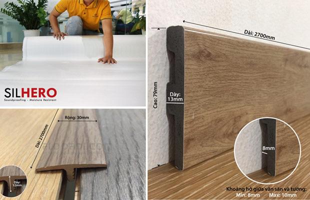 Phụ kiến lắp sàn gỗ