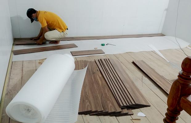 Quy trình lắp đặt sàn gỗ đúng cách