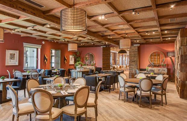 Rustic style interior design chuộng những màu sắc nguyên bản