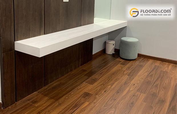 Sử dụng sàn gỗ chất lượng mang lại vẻ đẹp và độ bền cao