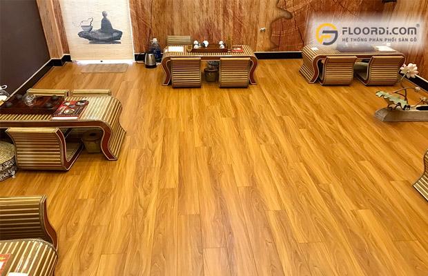 Sàn gỗ chịu nước giá rẻ lamton