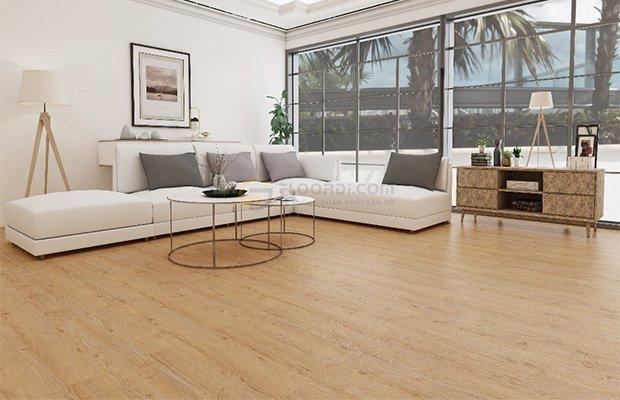 Sàn gỗ chống nước vẫn mang lại thẩm mỹ cao
