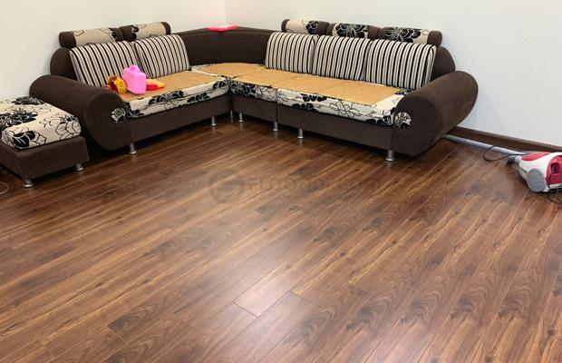Sàn gỗ công nghiệp vân walnut