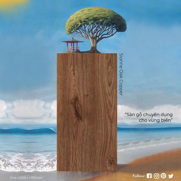 Sàn gỗ Hillman với khả năng chống nước lên đến 48h