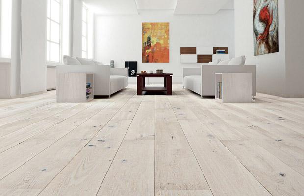Sàn gỗ Sồi Oak là loại sàn khá phổ biến