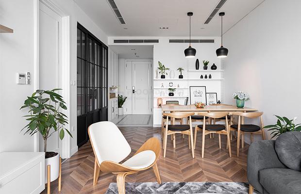 Sàn gỗ thân thiện với môi trường và người sử dụng