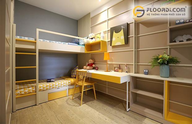 Sàn gỗ tiêu chuẩn thường có chất lượng cao