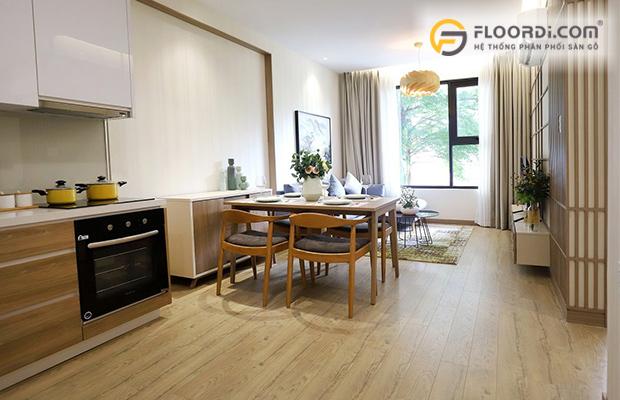Sàn gỗ tiêu chuẩn Châu Âu