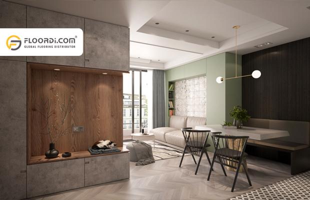 Sàn gỗ xương cá