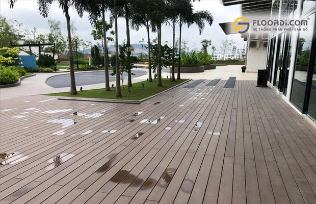 Sàn nhựa ngoài trời WPC