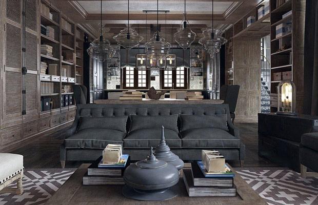 Sử dụng tone màu đen trong thiết kế nội thất