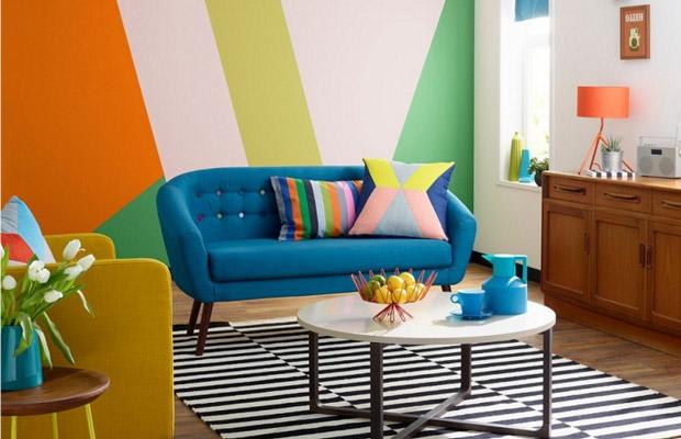 Sự phá cách màu sắc trong style Color Block