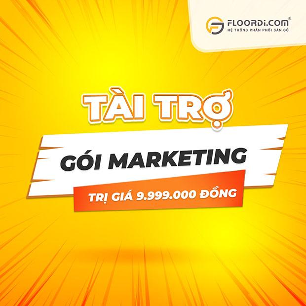 tài trợ gói marketing